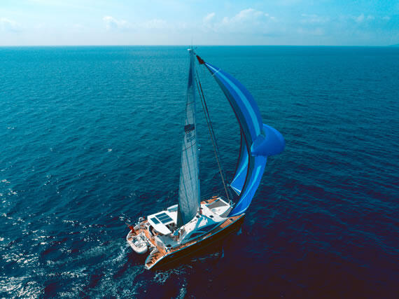 Romantic luxury yacht charter in the Mediterranean